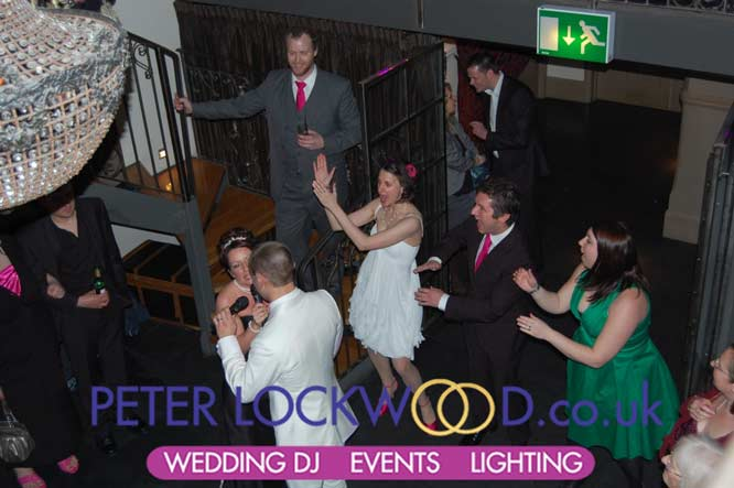 First Dance With Friends Providing Backing Singers In The