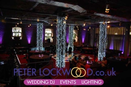 white-pilar-lighting-and-purple-uplighting-in-the-place-hotel-manchester