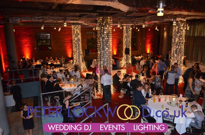 Wedding dj in the place hotel manchester