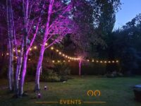 Summer Garden Party Lighting