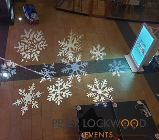 The big C is getting closer looking for lighting for your Christmas events you know where to come #christmaslighting #snowflakes #christmasdecor