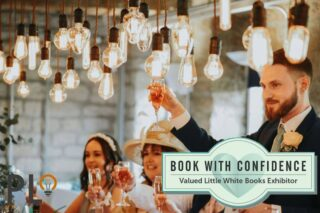 Looking for Amazing Lighting at your Wedding in these uncertain times. You can book with confidence Knowing we will move your date FOC if covid affectes your wedding. 2021 only has a few free dates and 2020 is starting to fill up #bookwithconfidence #weddinglighting #littlewhitebooks