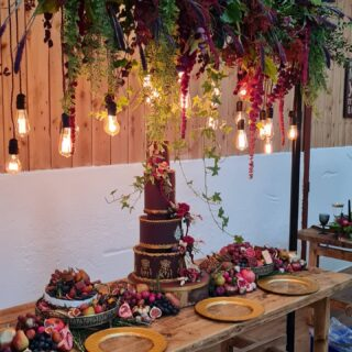 A few phone pictures from yesterday's photo shoot. Got to love real Edison Lighting #photoshoot #edisonbulb #weddinglighting #edison Organiser: @littlewhitebookslwb Florals: @skelmersdaleflowercentre Graze: @thelittlegreenplattercompany Cake: @the_cake_pavilion Stationary: @victorialewisdesigns Lighting: @peterlockwoodevents Table settings & Glassware: @whitehouse_crockery Venue: @wellbeingfarm