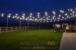 Festoon Lighting is a very flexable form of lighting large areas both inside or outside. Great if you are wanting that festival look at your event. http://ow.ly/QVGC50BelSn #festoonlighting #festoon #festivallighting