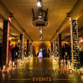 Looks like we will have another 6 months break from weddings. Its not something we want. we miss the happiness that weddings provide. #wemakeevents #fairylights #candleaisle #backtowork #fecked