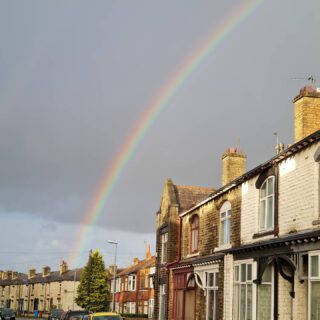 If only Boris was at the end of todays rainbow saying weddings are back on.